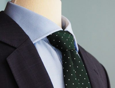 Tie Shirt Jacket
