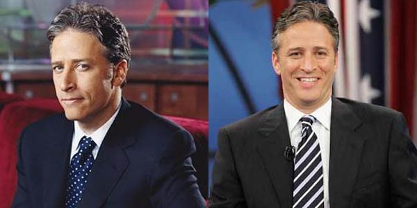 Jon Stewart Tie Difference