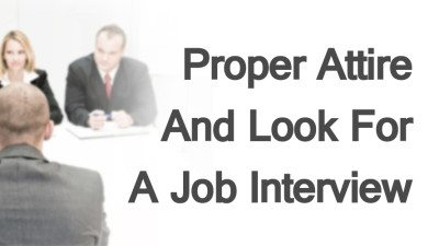 Proper-Attire-And-Look-For-A-Job-Interview