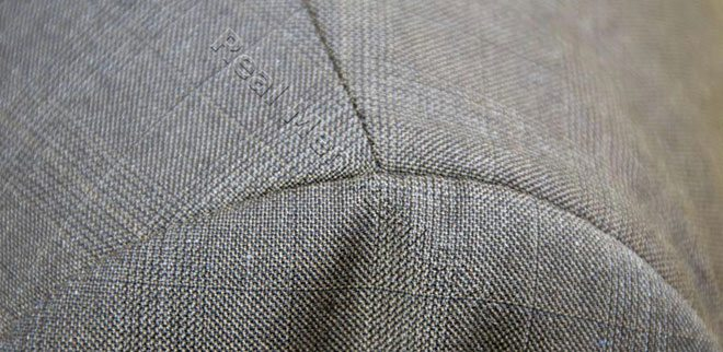 Delicate suit fabric
