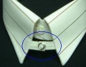 A tab collar