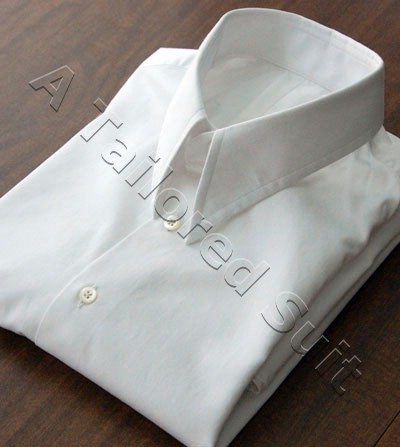 mens white shirt collar