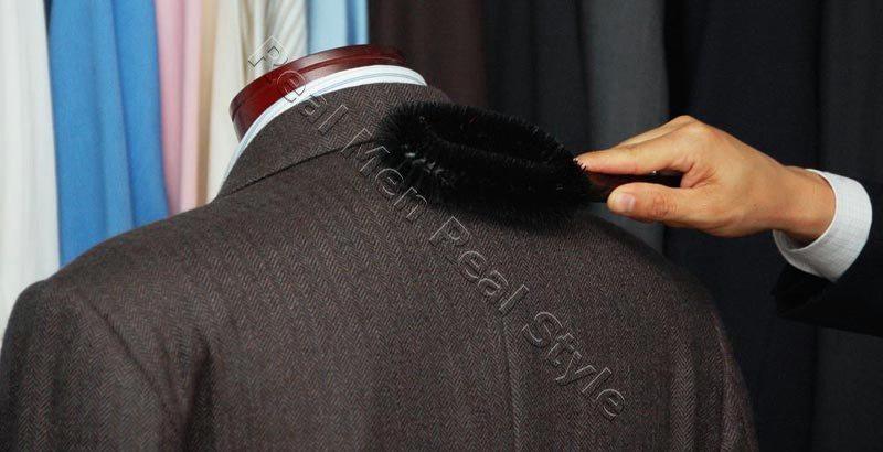 Mens Suit Jacket Brushing