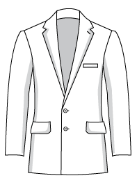 mens two button suit