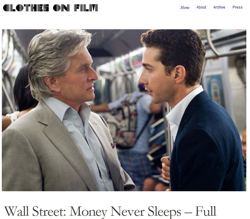 Wall Street Money Never Sleeps - Suit Jacket