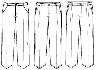 mens trouser pleats