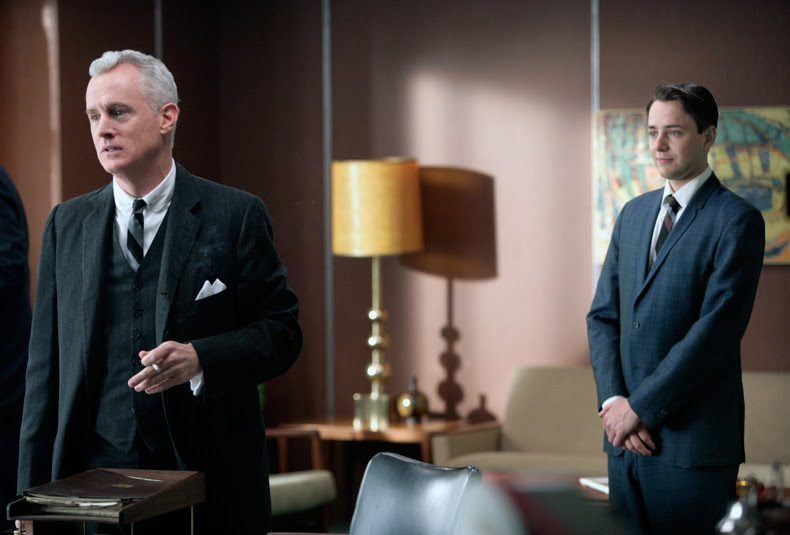 Roger Sterling and Pete Campbell