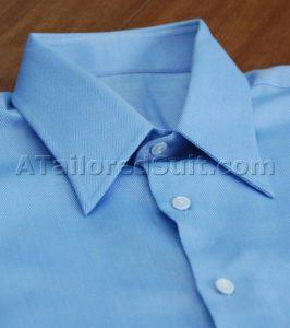 Men's dress shirt collar