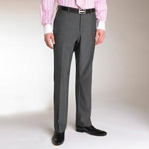 Men's trousers - plain front
