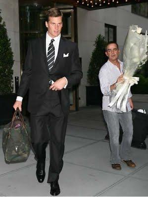 Tom Brady in a suit
