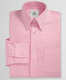 mens pink button down shirt
