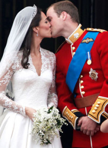 Kate Middleton and Prince William weddin