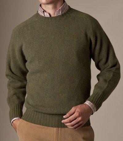 mens crewneck sweater