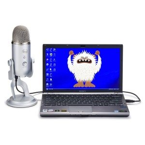 Blue Microphones Yeti USbMicrophone - Silver Edition