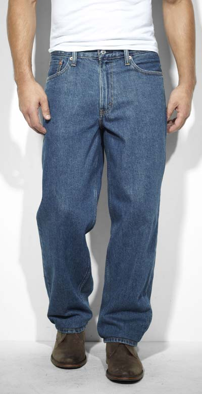 mens loose cut jeans