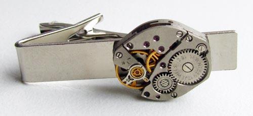 Tie Clip - watch parts design