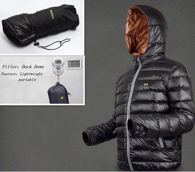 Light weight Down Coat for men