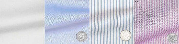 interchangeable shirt fabrics