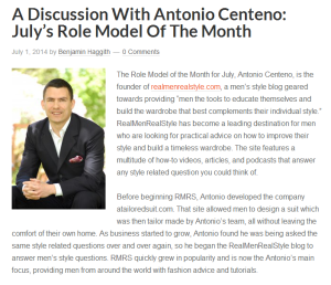 Antonio Centeno Interview