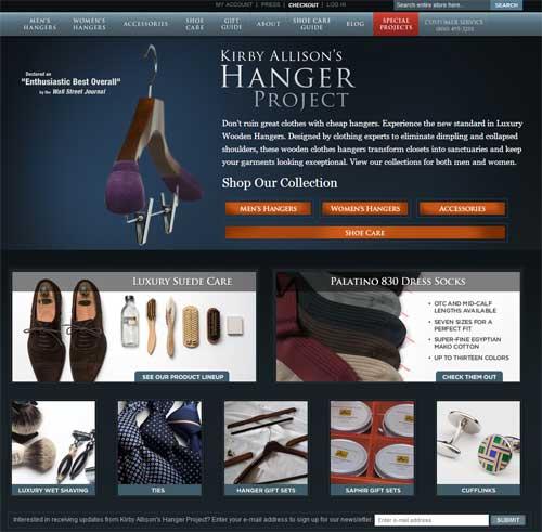 hanger-project-website