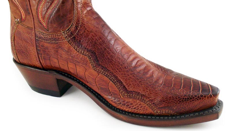 mens lucchese boots gator