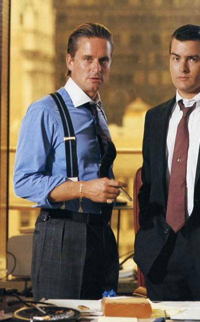 Wall Street Gordon Gekko