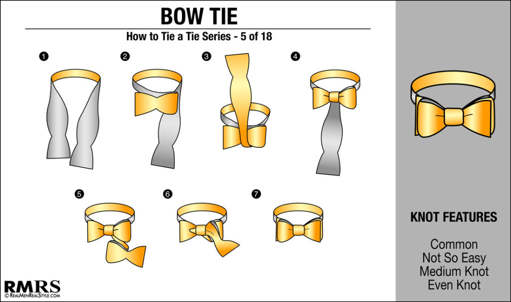 Video Proof That A Bow Tie Is All You Need! How To Tie A ...