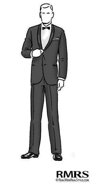 Man Wearing Black Tie