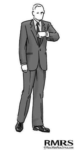 Man Wearing black tie optional