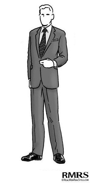Man Wearing Semi Formal Business