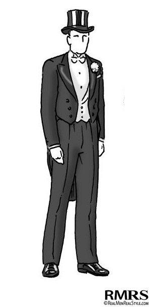 Man Wearing White Tie