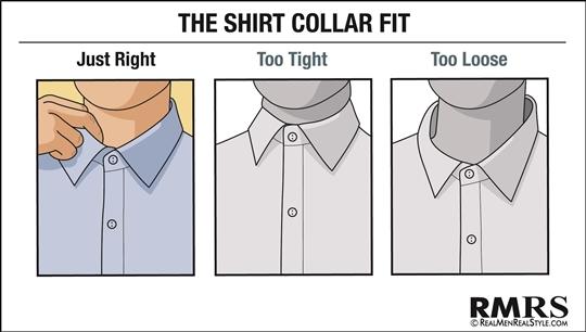 Dress Shirt Collar Fit