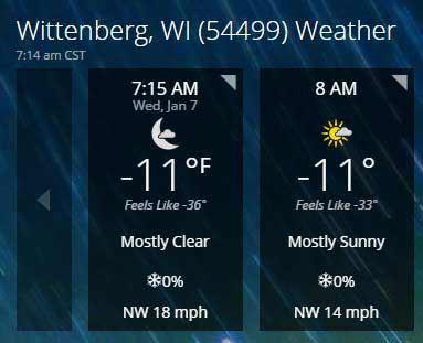 Hourly-Weather-Forecast-Wittenberg-WI-54499