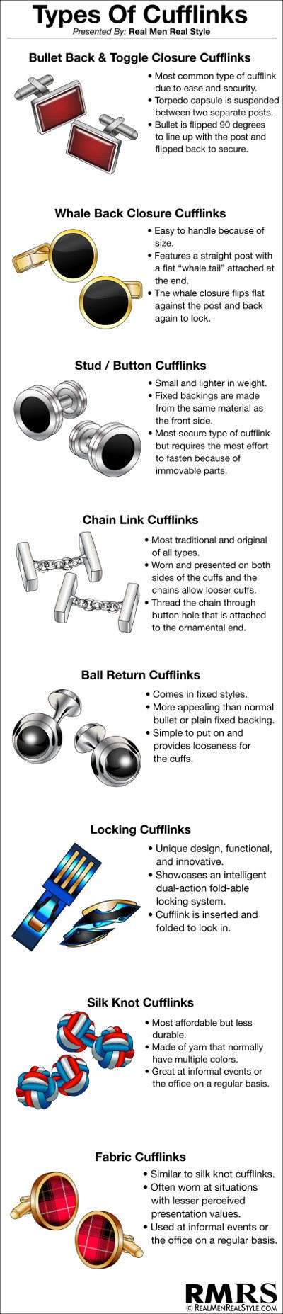 Types-Of-Cufflinks 400